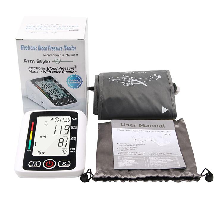 Arm-Blutdruckmessgerät XBP-A02