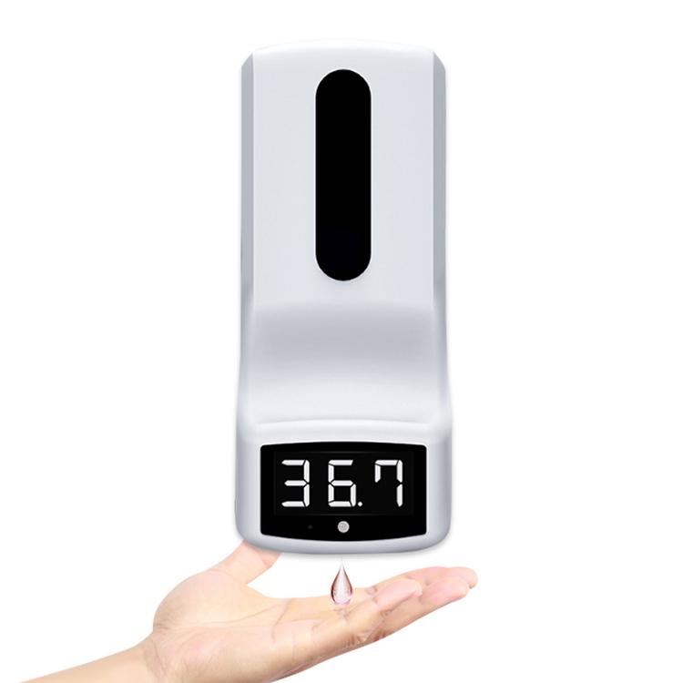K9 Handreinigung und Temperaturmessung
